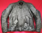 "HEIN GERICKE OXAN WATERPROOF LEATHER MOTORCYCLE JACKET UK 43 44"" CHEST  EU 54"